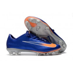 Nike Mercurial Vapor XI FG Scarpe Calcetto - Blu Arancio