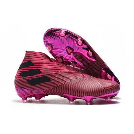 adidas Nemeziz 19+ FG Scarpa da Calcio - Rosa Nero