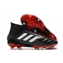 Scarpe da Calcio adidas Predator Mania 19+FG ADV Nero Bianco Rosso