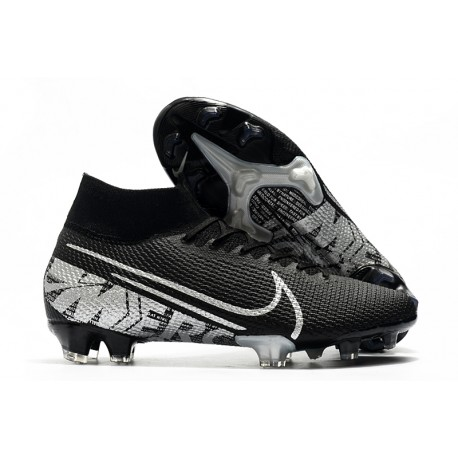 Scarpa Calcio Nike Mercurial Superfly 7 Elite SE FG -Nero Grigio Cool