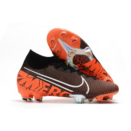 Scarpa Calcio Nike Mercurial Superfly 7 Elite SE FG -Nero Bianco Cremisi Hyper