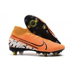 Nike Mercurial Superfly 7 Elite SG-Pro AC Arancione Bianco