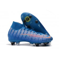 Nike Mercurial Superfly 7 Elite SG-Pro AC Blu Rosso