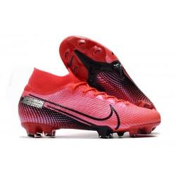 Scarpa Calcio Nike Mercurial Superfly 7 Elite SE FG -Cremisi Laser Nero