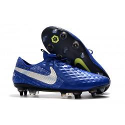 Scarpa da Calcio Nike Tiempo Legend 8 Elite SG-Pro Blu Argento
