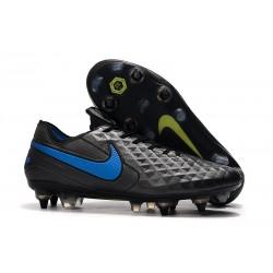 Scarpa da Calcio Nike Tiempo Legend 8 Elite SG-Pro Nero Blu
