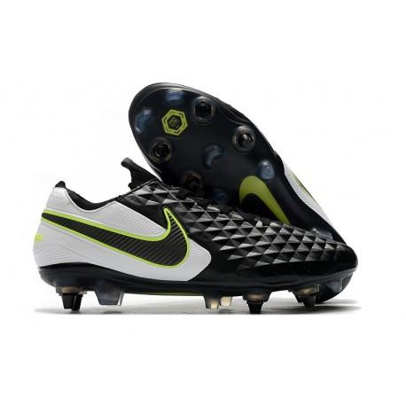 Scarpa da Calcio Nike Tiempo Legend 8 Elite SG-Pro Nero Bianco