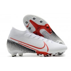 Scarpa Nike Mercurial Superfly VII Elite AG-PRO Bianco Rosso