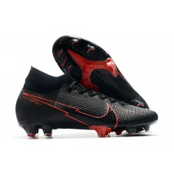 Nike Mercurial Superfly VII Elite DF FG -Nero Rosso
