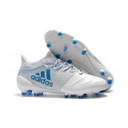 Adidas x 17.1 FG Scarpa da Calcetto - Bianco Blu