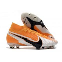 Nike Mercurial Superfly VII Elite DF FG -Arancione Laser Nero Bianco