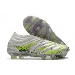 adidas Scarpe Copa 20+ FG - Bianco Nero Core Verde Signal