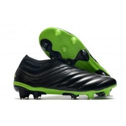adidas Scarpe Copa 20+ FG - Nero Core Verde Signal