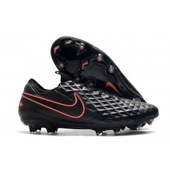 Scarpa Nike Tiempo Legend VIII Elite FG ACC Nero Rosa