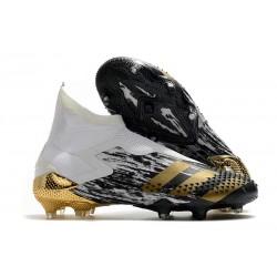 adidas Scarpe Predator Mutator 20+ FG - Bianco Oro Nero