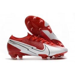 Scarpa Nike Mercurial Vapor 13 Elite FG Rosso Bianco