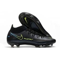 Nuovo Scarpa Nike Phantom GT Elite DF FG Nero Giallo