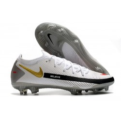 Nike Phantom GT Elite FG 2021 Scarpa Calcio Bianco Nero Rosso